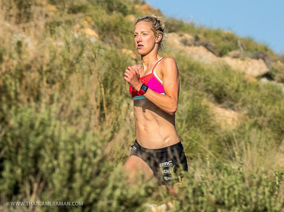 Emma Pallant training