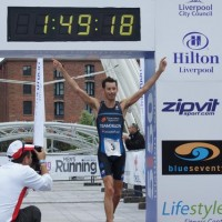 Stuart Hayes Wins Liverpool 5150 series Triathlon!